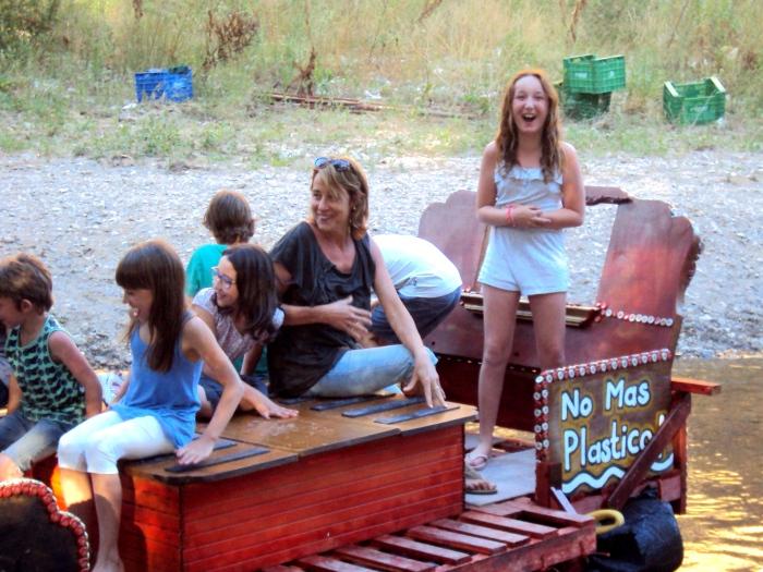 Junk Raft visitors